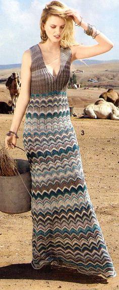 летнее макси-платье