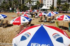 Getting some sun? You may just stumble across the RE/MAX global brand on the beach in Brazil!