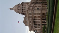 One shot in front of the Texas Capitol