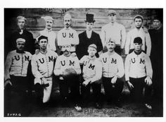 Twitter   Vintage Photo of the Day: Your 1887 Minnesota football team