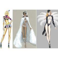 VS Fashion Show Sketches!