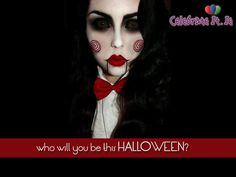 maquillaje-halloween-saw-billy . - maquillaje-halloween-saw-billy … maquillaje-halloween-saw-billy Más Costume Halloween, Cool Halloween Makeup, Halloween Looks, Halloween Diy, Women Halloween, Halloween Nails, Halloween Kitchen, Couple Halloween, Halloween Painting