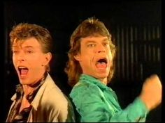 Mick Jagger & David Bowie.-  Dancing in the street (Live Aid Version)