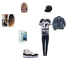 """""""Untitled #20"""" by mindlessmimi143 ❤ liked on Polyvore featuring Sprayground, Parisian, Gap, Pull&Bear and Concord"""