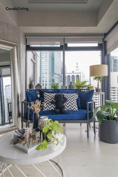 Laureen Uy Tours Us Inside Her Newly Renovated Condo! Minimalist Room, Home And Living, Condo, Diy Projects, Tours, Table Decorations, Bedroom, Interior, Furniture