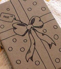 Sur le papier craft, vous pouvez dessiner tout ce qui vous plaît!