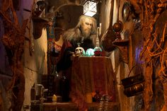 Magical Merlin at Pirate's Quest, Newquay, Cornwall