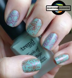 Searchin 4 Sunshine: [Nails] Sunday ... Nails mit trend IT UP Touch of Vintage 020 & und nem Stamping Fail