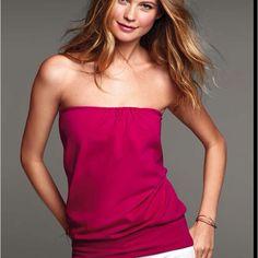 Victoria's Secret strapless top