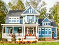Farmhouse Plan 30057RT from Architectural Designs - love at first sight!