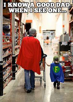 Far, du er fantastisk!