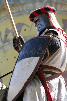 Knight Templar Editorial Stock Photo
