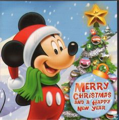 merry christmas and a happy new year disney mickey mouse catawiki - Merry Christmas Mickey Mouse