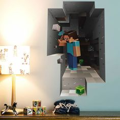 Minecraft Wall Stickers