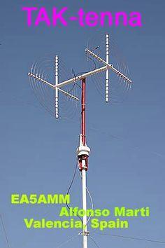 Radio satellite antennas amateur