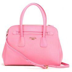 €155.00 Buy Prada Saffiano Cuir Leather Tote Pink Website