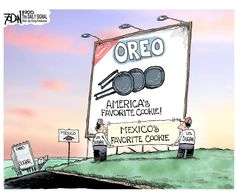 Nabisco moves Oreo production from Chicago to Mexico, resulting in a loss of 600 U.S. jobs.