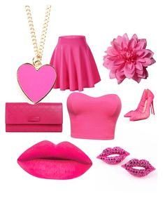"""""""Pink ootd"""" by dajianjackson on Polyvore featuring beauty, Christian Louboutin and Gucci"""