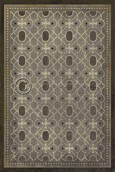 pattern 21 contrariwise - vintage vinyl floor clothsspicher&co