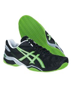 hot sale online 4e6bc 590d2 ASICS GEL RESOLUTION 4 CLAY Estabilidad, Silueta, Zapatillas, Verde, Negro,  Que
