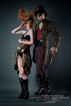 Dark Circus/Steampunk style