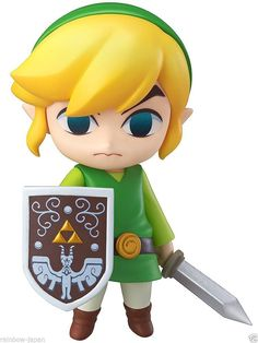 Legend of Zelda Link The Wind Waker Figure Good Smile Nendoroid JAPAN