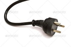 Electric plug (british, cable, closeup, color, concepts, connect, connection, cord, cut, cutout, digitally, dimensional, electric, electrical, electricity, electronic, energy, equipment, extension, image, industry, isolated, line, nobody, object, pin, plug, power, prong, shape, single, supply, technology, three, uk, volt, voltage, white, wired)