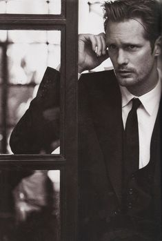 Alexander Skarsgard for Vogue, July 2011