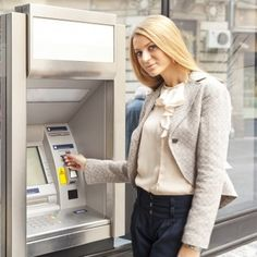 Say 'no' to ATM machines