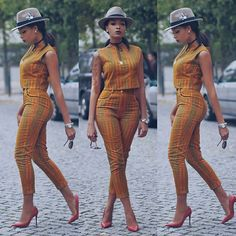 Are you a fashion designer looking for professional tailors to work with? Gazzy Consults is here to fill that void and save you the stress. We deliver both local and foreign tailors across Nigeria. Call or whatsapp 08144088142 For your latest styles and g African Print Pants, African Print Dresses, African Fashion Dresses, African Attire, African Wear, African Women, African Dress, African Prints, African Style