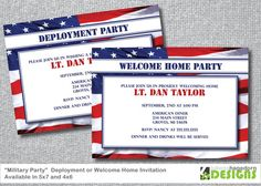 Deployment Welcome Home Party