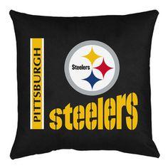 Pittsburgh Stateeelers Locker Room Toss Pillow  #NFL
