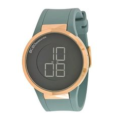 BCBG watch with rose gold face edging $41