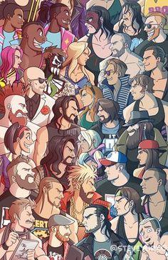 dean ambrose GIFs - raw v smackdown - wwe & wwf News Wwe Superstar Roman Reigns, Wwe Roman Reigns, Roman Regins, Wrestling Posters, Wrestling Wwe, Wwe Raw And Smackdown, Wwe Funny, Funny Gifs, Wwe Belts