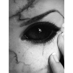 15 Scary Halloween Zombie Eye Make Up Looks Ideas For Girls 2014 ❤ liked on Polyvore featuring backgrounds, eyes and makeup