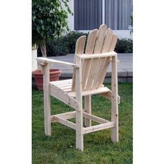 Tall Adirondack Chair Plans | For the Home | Pinterest