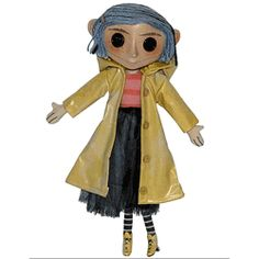 Creepy, but totally necessary for the perfect Coraline costume