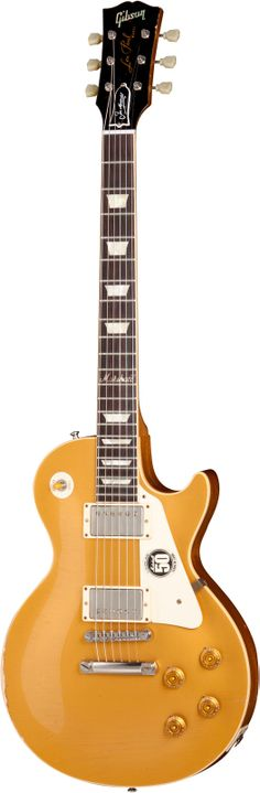 GIBSON 50TH ANNIVERSARY OF MARSHALL LES PAUL GOLDTOP AGED