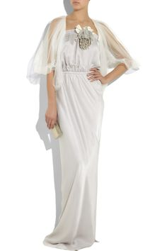 Strapless silk-charmeuse gown £1,600
