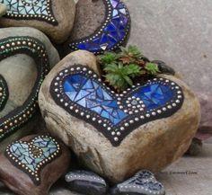 Mosaic Garden Stones by Janny Dangerous