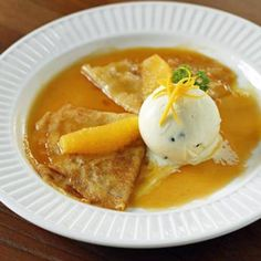 """""""Keep On Trying"""" and eventually you'll end up with Crepes With Orang Sauce. - Capper's Farmer Magazine"""