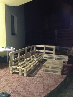 3 Steps To Make This Pallet Sofa Pallet Sofas