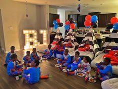 Bff Birthday Gift, Birthday Party Themes, Party Cakes, Sleepover, Children, Kids, Baby Strollers, Spiderman, Instagram