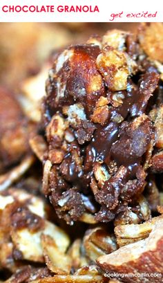 Chocolate + Smoked Almond Granola | Cooking With Caitlin