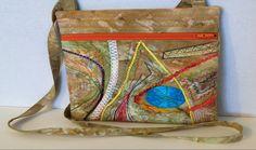 Little Purse by djwa | Visit http://fiberartist.net/   #fiberartist #sewing art #creative stitching