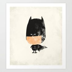 Batman Art Print by Zach Terrell - $16.00