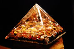 Orgone Pyramid  Ring of Fire   Ascension Tool  by HighVibes, $66.00