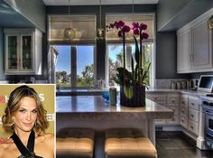Molly Sims | Pink Orchid | Kitchen Style | Celebrity Kitchen | Home Design | Star Style
