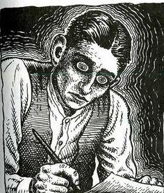 Portrait of Franz Kafka by R. Crumb