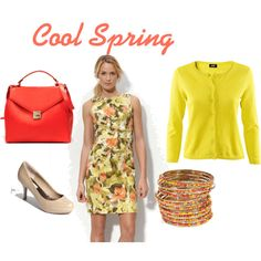 Cool Spring, created by pumpsandgloss on Polyvore